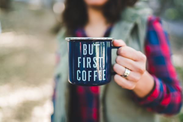 Coffee to stay warm