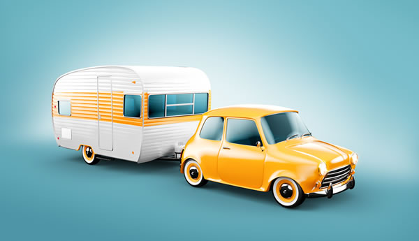 Size Caravan I can Tow with My Car