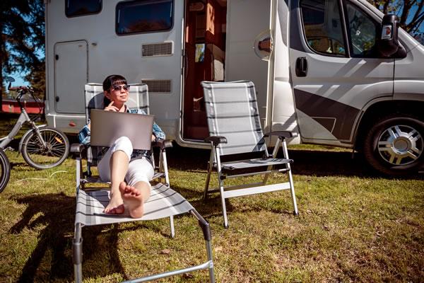 WiFi Options in Caravan