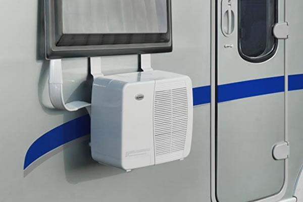 Air Conditioner Installed in a Caravan
