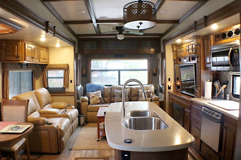 Gas or Electric RV Heater