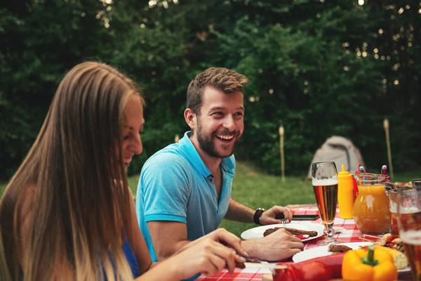 RV with Outdoor Kitchen