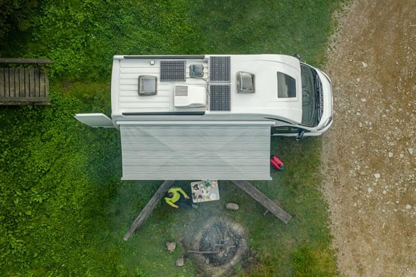 How Many Solar Panels for a Caravan