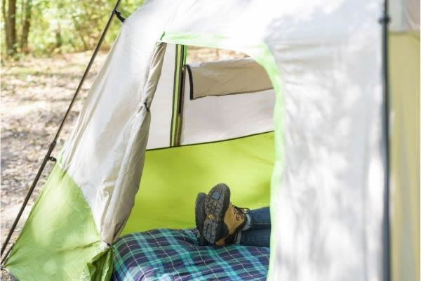 Make camping cots extra comfortable