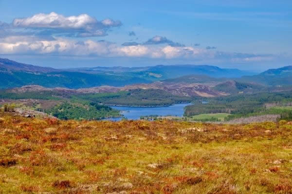 Suidhe Viewpoint in the Scottish Highlands